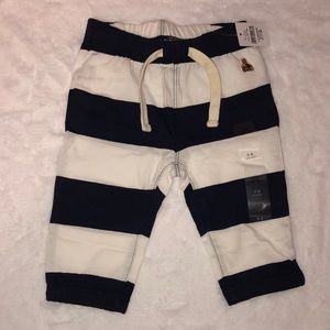 Baby GAP Blue and White Stripe Pant 3-6months